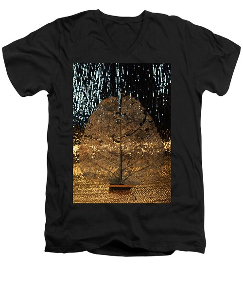Fall At Door Men's V-Neck T-Shirt
