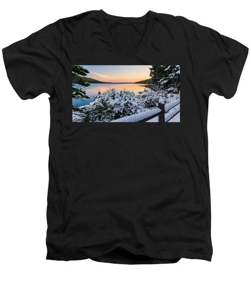 Fallen Leaf Lake Men's V-Neck T-Shirt