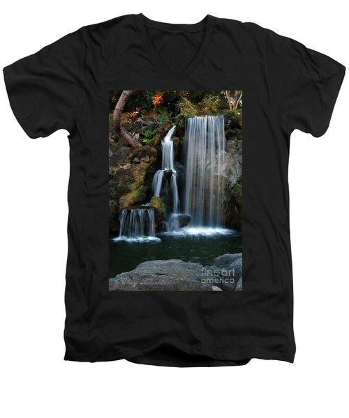 Falling For You Men's V-Neck T-Shirt by Clayton Bruster