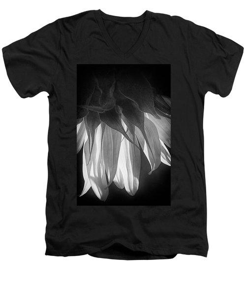 Falling Monochrome  Men's V-Neck T-Shirt