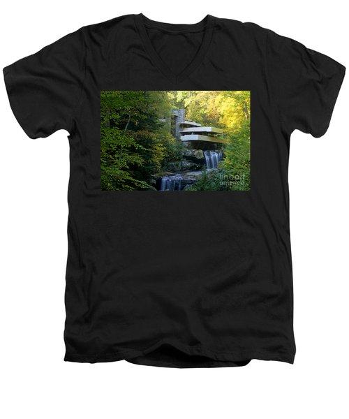 Fallingwater Men's V-Neck T-Shirt