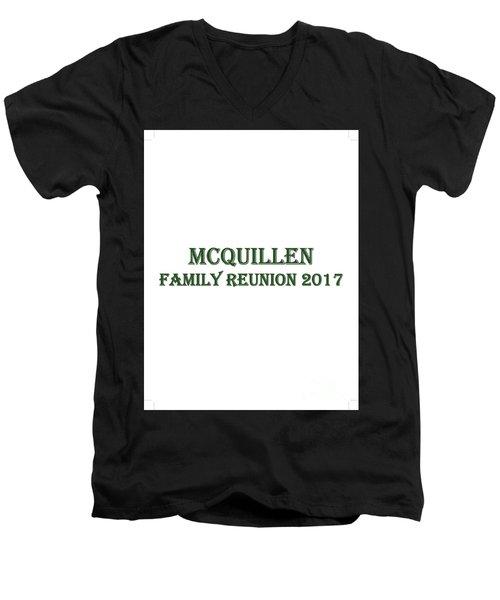 Family Reunion 2017 Men's V-Neck T-Shirt