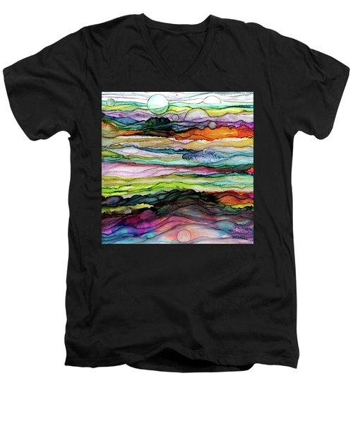 Fantascape Men's V-Neck T-Shirt