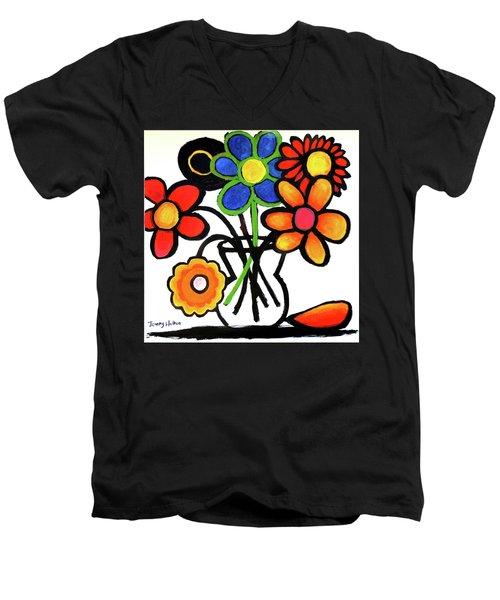 Fantastic Colour Men's V-Neck T-Shirt