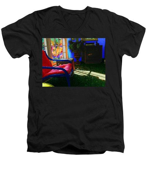 Faux Fauve Interior Men's V-Neck T-Shirt