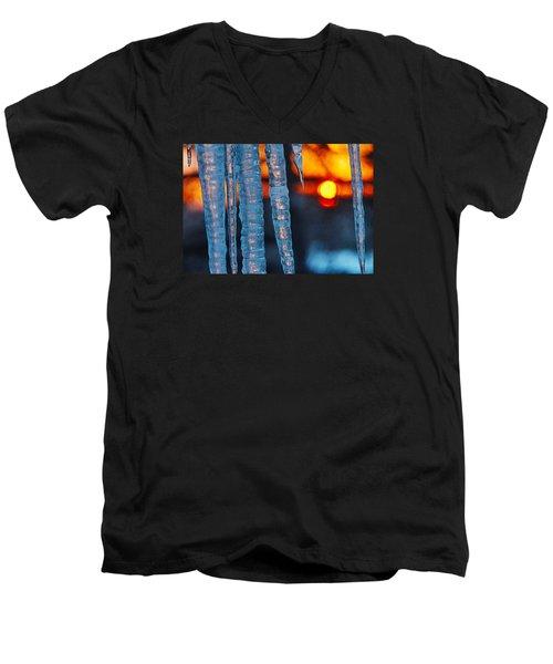 February Sunrise Men's V-Neck T-Shirt