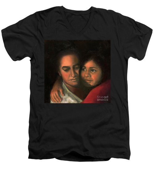 Felicia And Kira Men's V-Neck T-Shirt