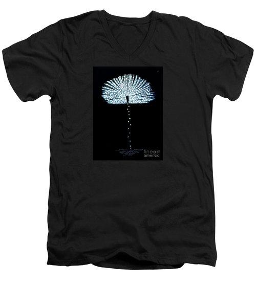 Female Feather Men's V-Neck T-Shirt