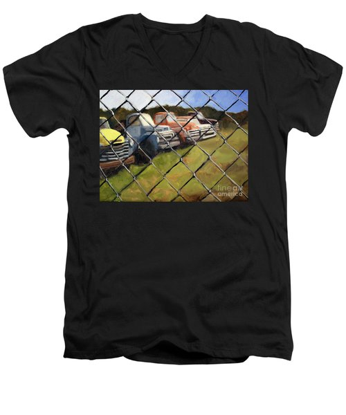 Fenced In Men's V-Neck T-Shirt
