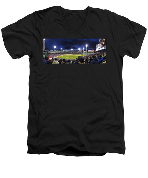 Fenway Night Men's V-Neck T-Shirt