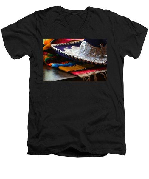 Festive Fancy Men's V-Neck T-Shirt