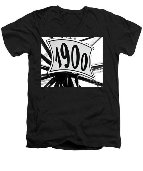 Fete-soulac-1900_26 Men's V-Neck T-Shirt