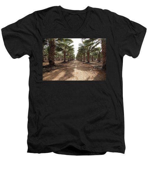 Date Grove #3 Men's V-Neck T-Shirt
