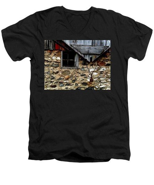 Field Stone Barn Men's V-Neck T-Shirt