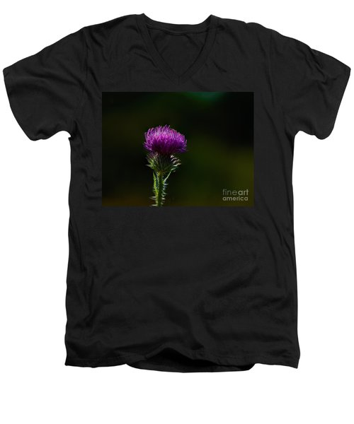 Field Thistle Men's V-Neck T-Shirt