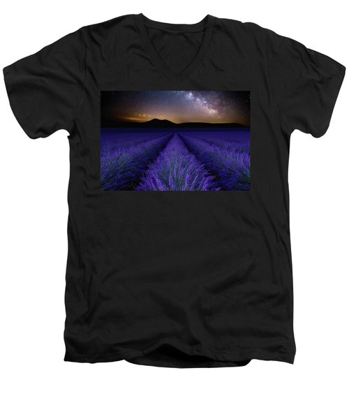 Fields Of Eden Men's V-Neck T-Shirt