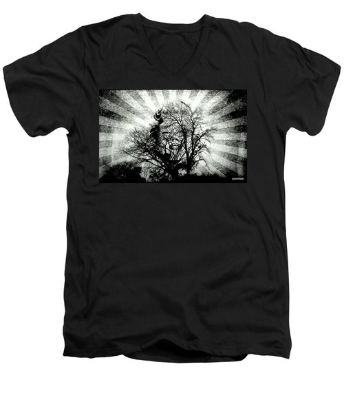 Fifty Cents For Your Soul Men's V-Neck T-Shirt
