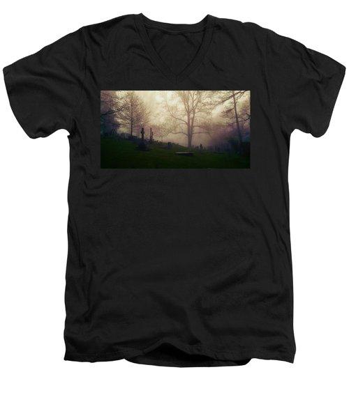 Final Frontier Men's V-Neck T-Shirt