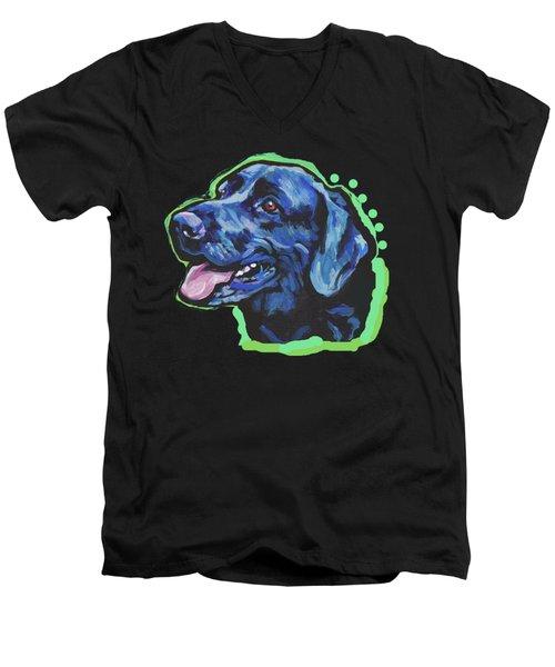 Find Me In The Lab Men's V-Neck T-Shirt