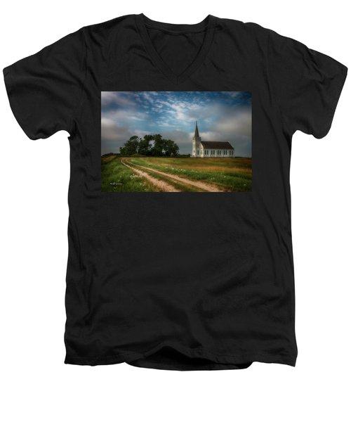 Finding My Way Men's V-Neck T-Shirt