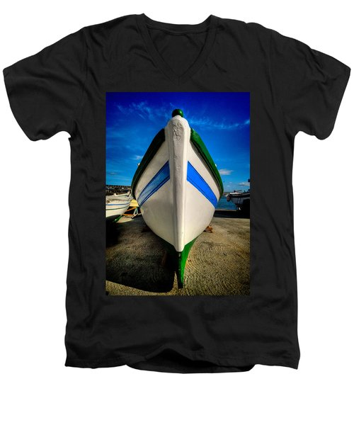 Fine Art Colour-108 Men's V-Neck T-Shirt