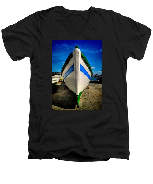 Fine Art Colour-108 Men's V-Neck T-Shirt