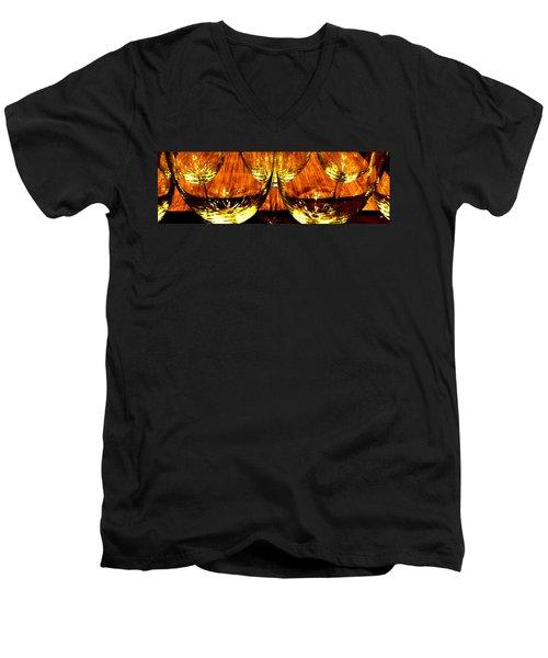 Fine Wine And Dine 3 Men's V-Neck T-Shirt