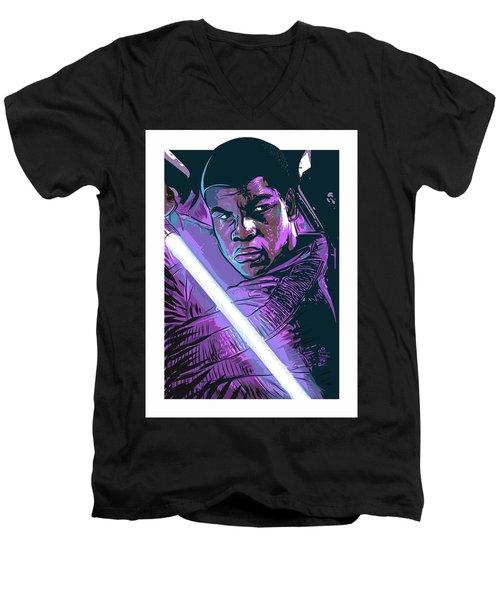 Finn Men's V-Neck T-Shirt