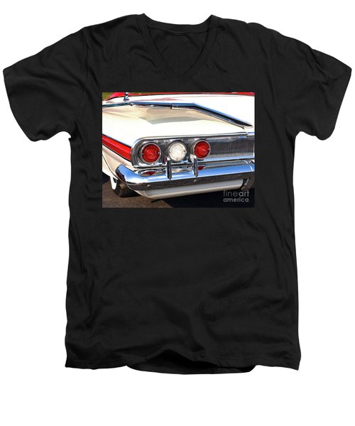 Fins Were In - 1960 Chevrolet Men's V-Neck T-Shirt
