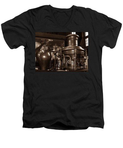 Fire Engine 1 Men's V-Neck T-Shirt