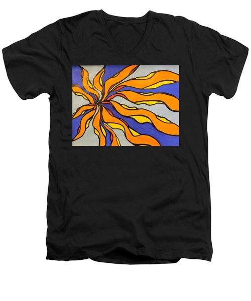 Fire, Ice, And Water Men's V-Neck T-Shirt
