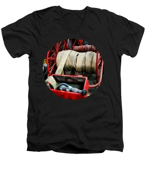 Fireman - Fire Hoses Men's V-Neck T-Shirt