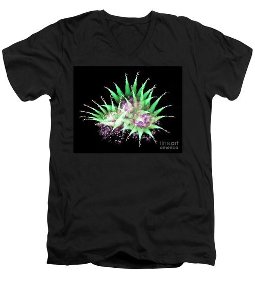 Firework Harlequin Men's V-Neck T-Shirt
