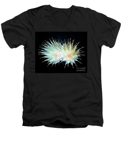 Firework Twin Men's V-Neck T-Shirt