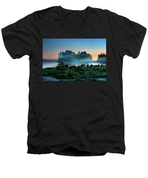 First Beach Men's V-Neck T-Shirt