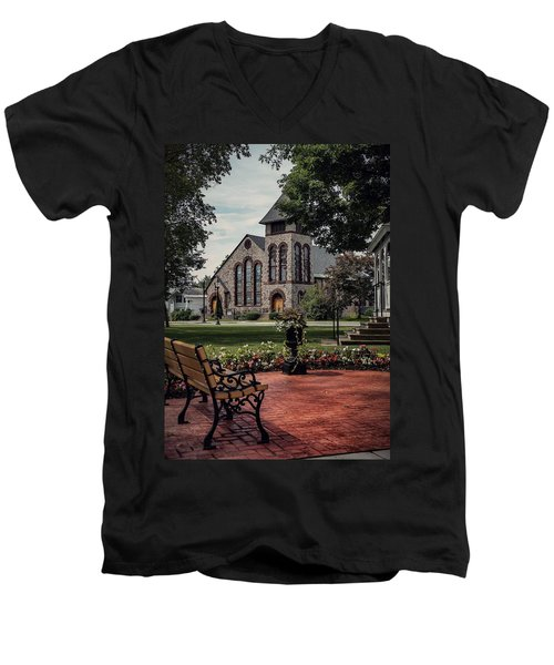 First Presbyterian Church Men's V-Neck T-Shirt