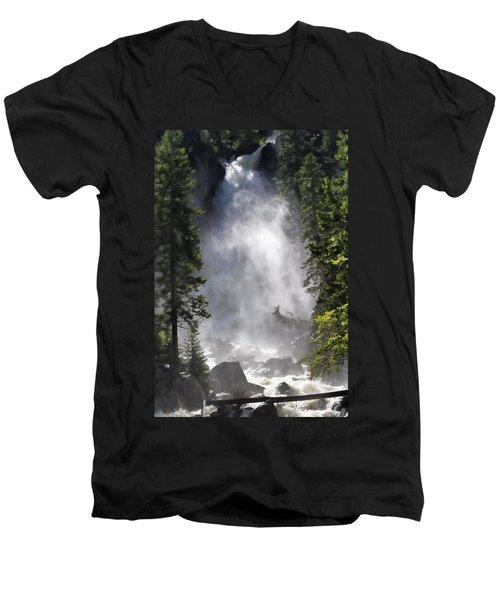 Fish Creek Falls Men's V-Neck T-Shirt