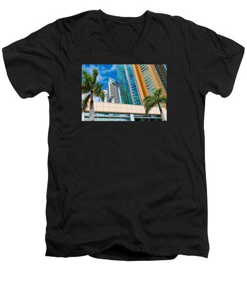 Fla-150531-nd800e-25113-color Men's V-Neck T-Shirt