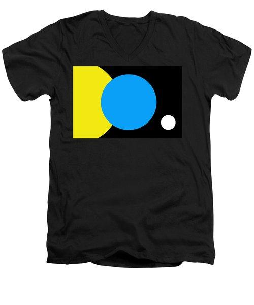 Flag Of Earth Men's V-Neck T-Shirt