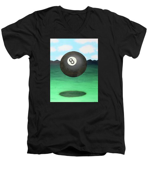 Floating 8 Men's V-Neck T-Shirt