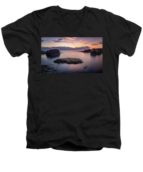 Floating Rocks Men's V-Neck T-Shirt
