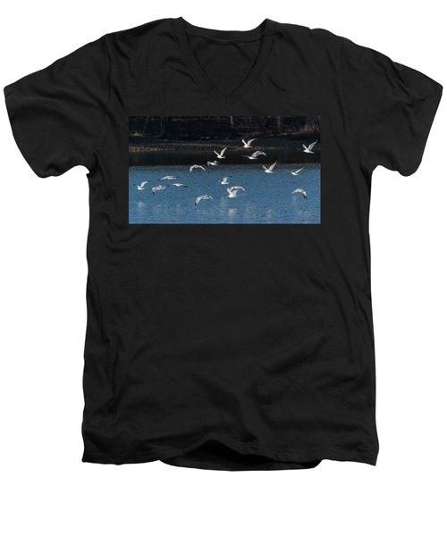 Flock Of Them Men's V-Neck T-Shirt