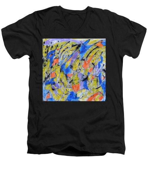 Flood Gate Of Joy Men's V-Neck T-Shirt
