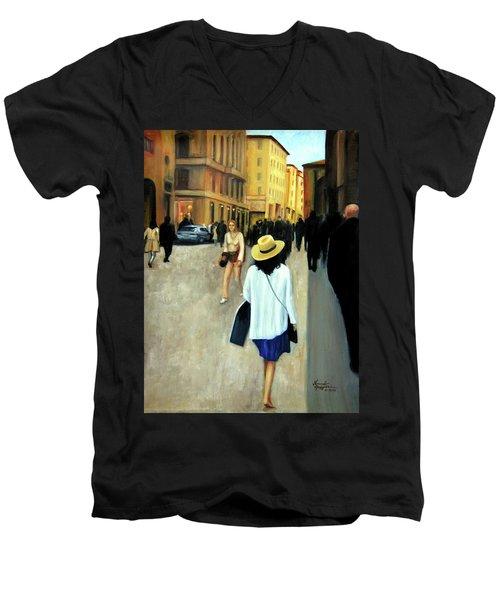 Florence Trip Men's V-Neck T-Shirt