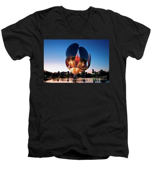 Florialis Generica I Men's V-Neck T-Shirt by Bernardo Galmarini