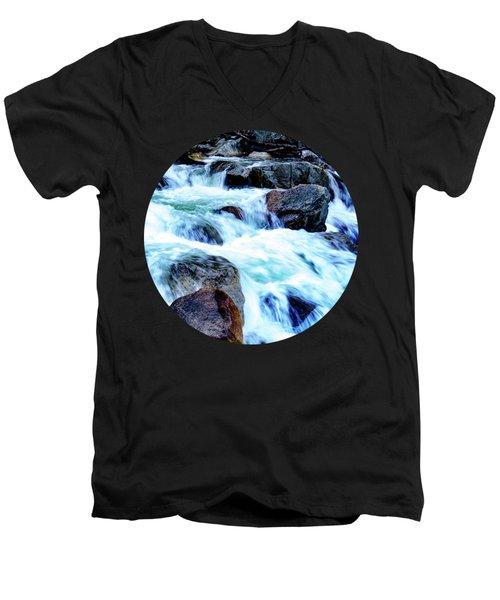 Flow Men's V-Neck T-Shirt