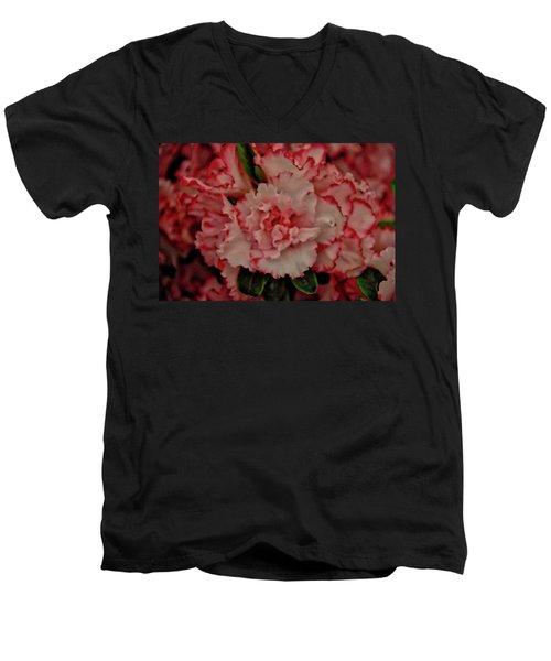 Flower 5 Men's V-Neck T-Shirt