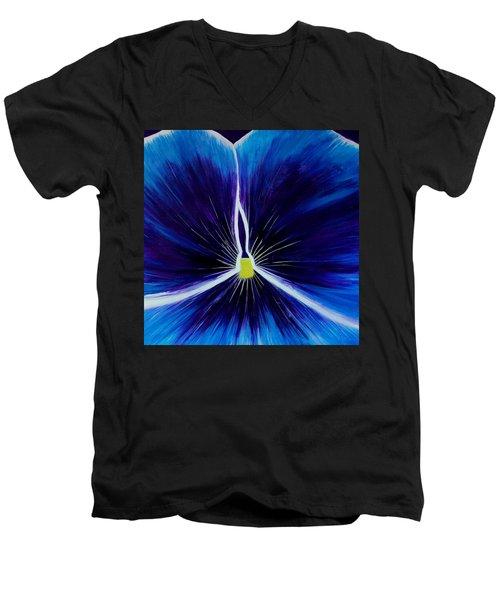 Flower Abstract 2 Men's V-Neck T-Shirt