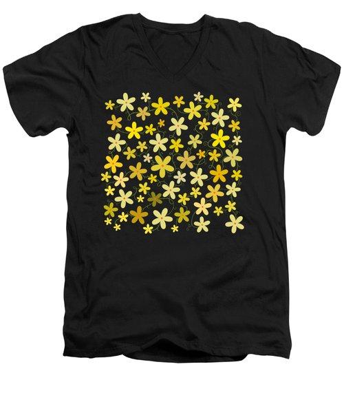 Flower Folly Men's V-Neck T-Shirt