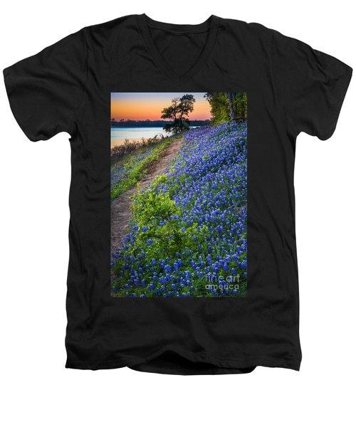 Flower Mound Men's V-Neck T-Shirt
